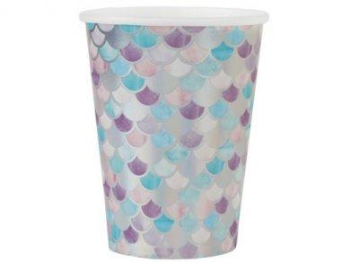 Little Mermaid Paper Cups (10pcs)