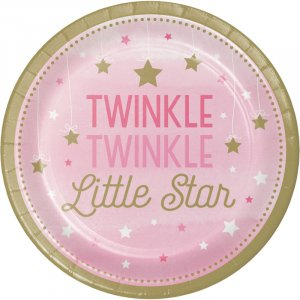 Twinkle Little Star Pink - Baby Shower Theme