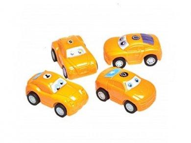 Party Favors Mini Pull-Back Cars (4pcs)