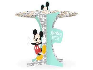 Mickey Mouse Cupcake Stand 25,5cm X 25cm