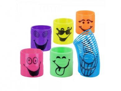 Mini Smiling Slinkies Party Favors (6pcs)