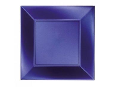 Design Square Blue Pearl Small Plates (8pcs)