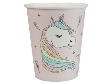 Unicorn Pink Paper Cups (10pcs)