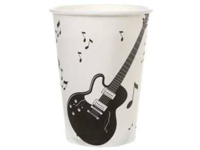 Musical Notes Paper Cups (10pcs)