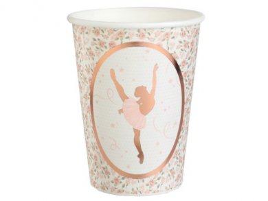 Ballerina Paper Cups (10pcs)