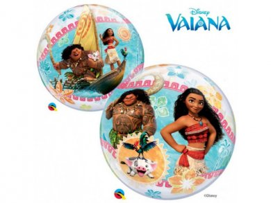 Bubble Balloon Vaiana with Two Designs (56cm)