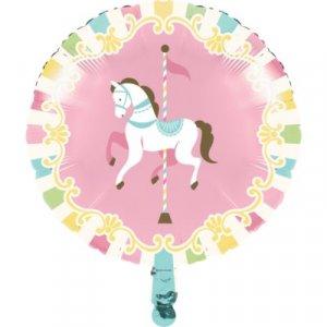 Carousel foil balloon