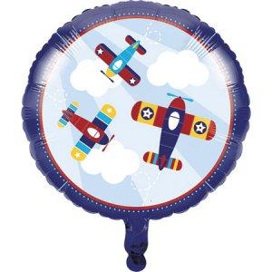 Foil Μπαλόνι Πολύχρωμο Αεροπλάνο-Airplane