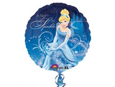 Foil Μπαλόνι Σταχτοπούτα-Cinderella (43εκ)