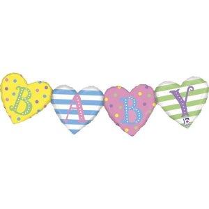 Bunting Balloon Baby (84cm)