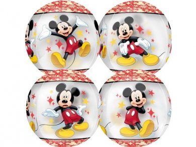 ORBZ Balloon Mickey Mouse with 4 Designs (40cm)