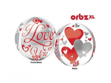 I Love You Μπαλόνι ORBZ 40εκ