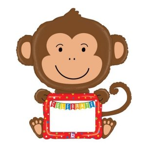 Little Monkey Dry and Erase Balloon Supershape