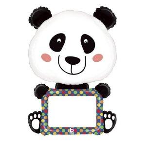 Panda Dry and Erase Balloon Supershape