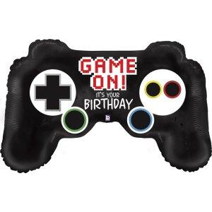 Χειριστήριο Game On Για Γενέθλια Μπαλόνι Supershape