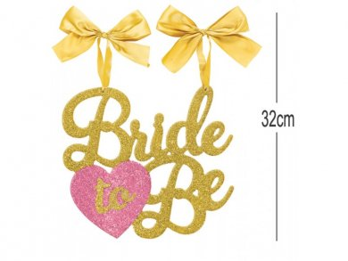 Bride to Be Ταμπέλα με Γκλίτερ