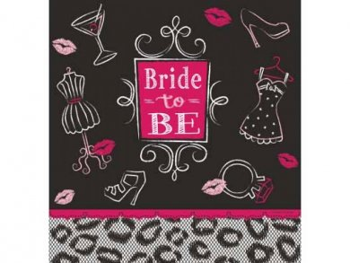 Bride to Be Plastic Tablecover (137 x 259)