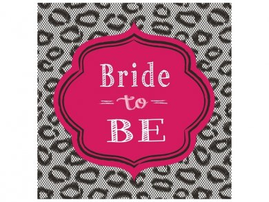 Bride to Be Luncheon Napkins (16pcs)