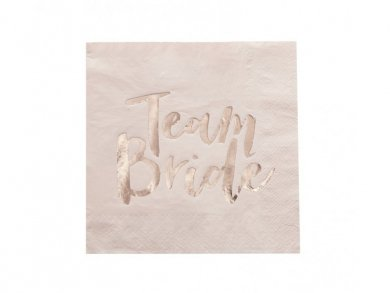 Team Bride Luncheon Napkins (20pcs)