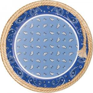 Μπλε Μπαντάνα - Για το Τραπέζι - Είδη πάρτυ για Βάπτιση