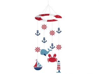 Nautical Boy Hanging Decoration (22,8cm x 60,9cm)