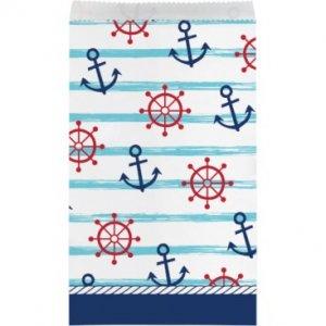 Ναυτικό Αγόρι Χάρτινα Σακουλάκια (8τμχ)