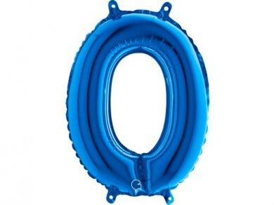 O Letter Balloon Blue (35cm)