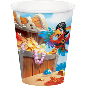 Pirate Treasure Paper Cups (8pcs)