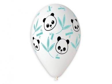 Panda and Bamboo Latex Balloons (5pcs)