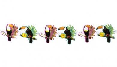 Toucan Parrots Garland (160cm)