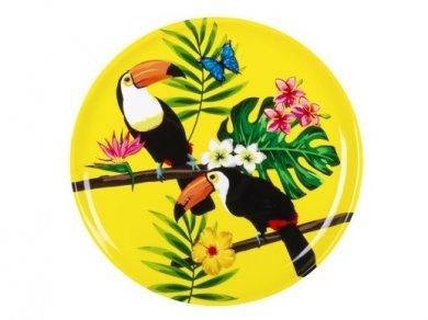Παπαγάλοι Τουκάν Πιατέλα Σερβιρίσματος (34,5εκ)