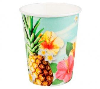 Pineapple Paradise Paper Cups (6pcs)