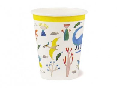 Dinosaurs Party Paper Cups (8pcs)