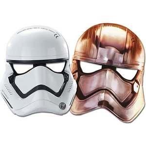Star Wars Paper Masks 6/pcs