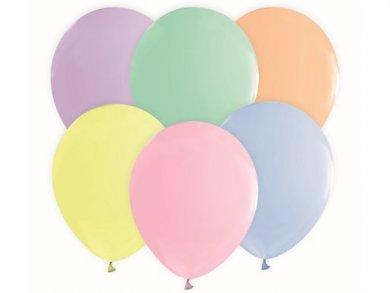 Παστέλ Χρώματα Μπαλόνια Λάτεξ (10τμχ)