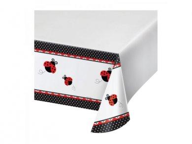 Ladybug Plastic Tablecover (137 x 274)