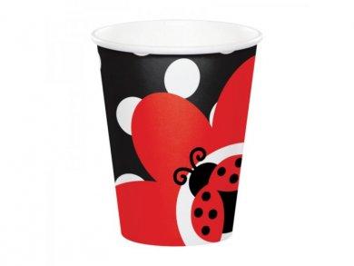 Ladybug Paper Cups (8pcs)
