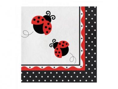 Ladybug Luncheon Napkins (16pcs)