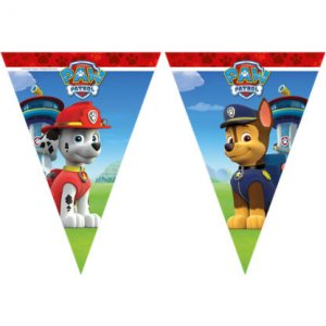 Paw Patrol Flag Bunting For Party Decoration