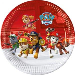 Paw Patrol Μεγάλα Πιάτα Χάρτινα (8τμχ)