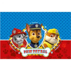 Paw Patrol Plastic Tablecover Party Supplies For Boys