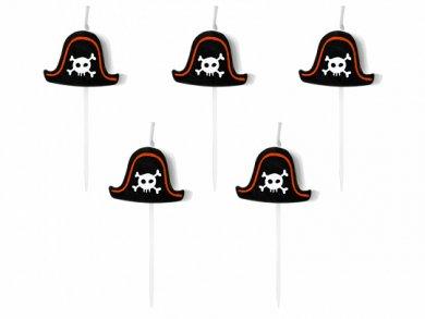 Πειρατικό Καπέλο Μίνι Κεράκια Για Τούρτα Γενεθλίων (5τμχ)