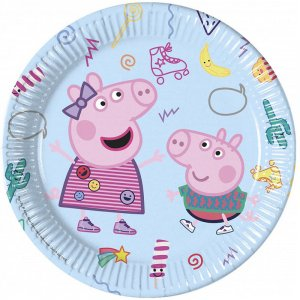 Peppa The Pig Large Paper Plates (8pcs)