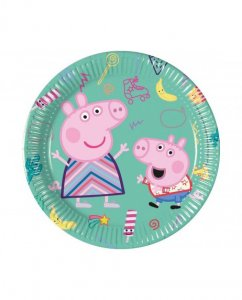 Peppa The Pig Small Paper Plates (8pcs)