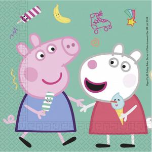 Peppa The Pig Luncheon Napkins (20pcs)