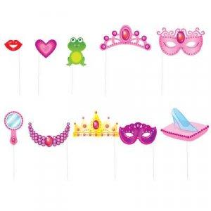 Princess Photobooth Props (10pcs)