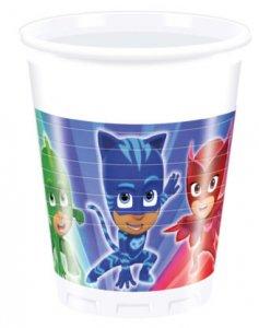 Pj Masks Paper Cups (8pcs)