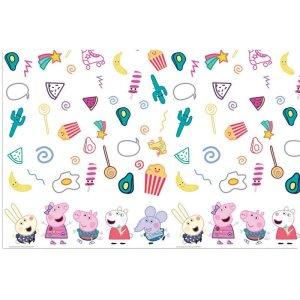 Peppa the Pig Plastic Tablecover (120cm x 180cm)