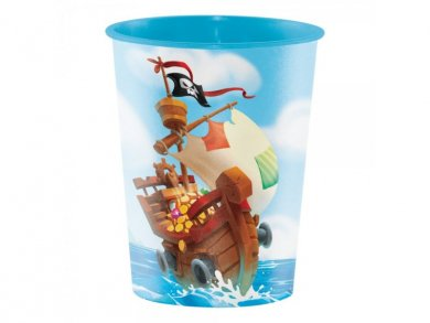 Pirate Treasure Plastic Cup 473ml