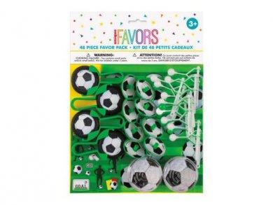 Soccer Party Favor Pack (48pcs)